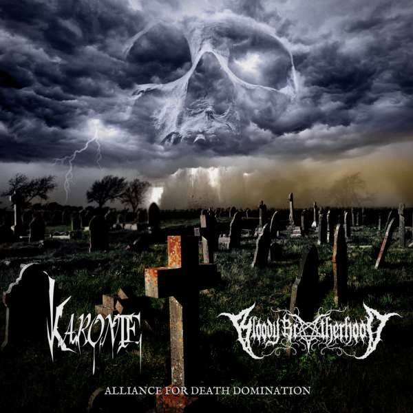 Karonte und Bloody Brotherhood - Alliance For Death Domination