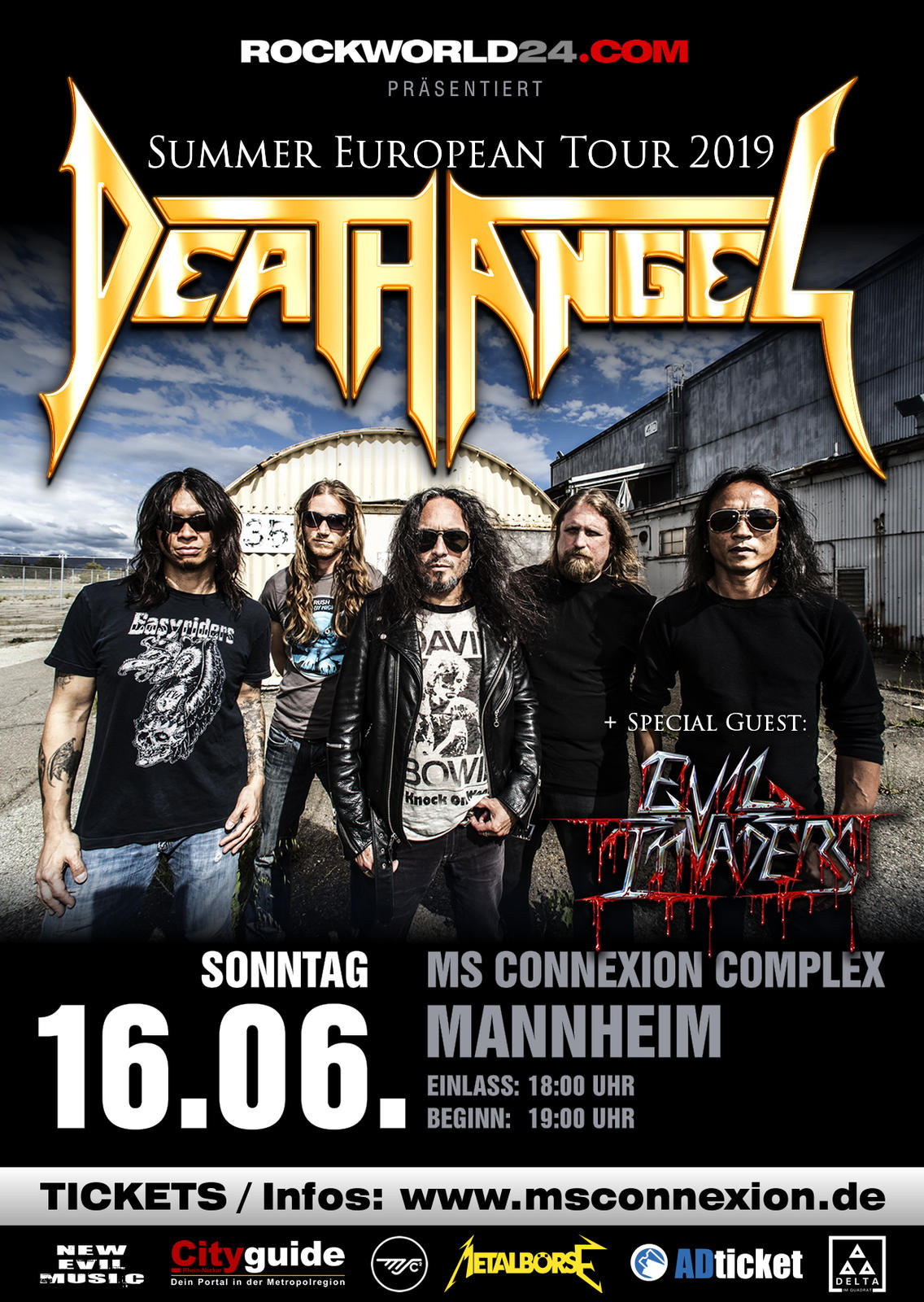 Death Angel / Evil Invaderz