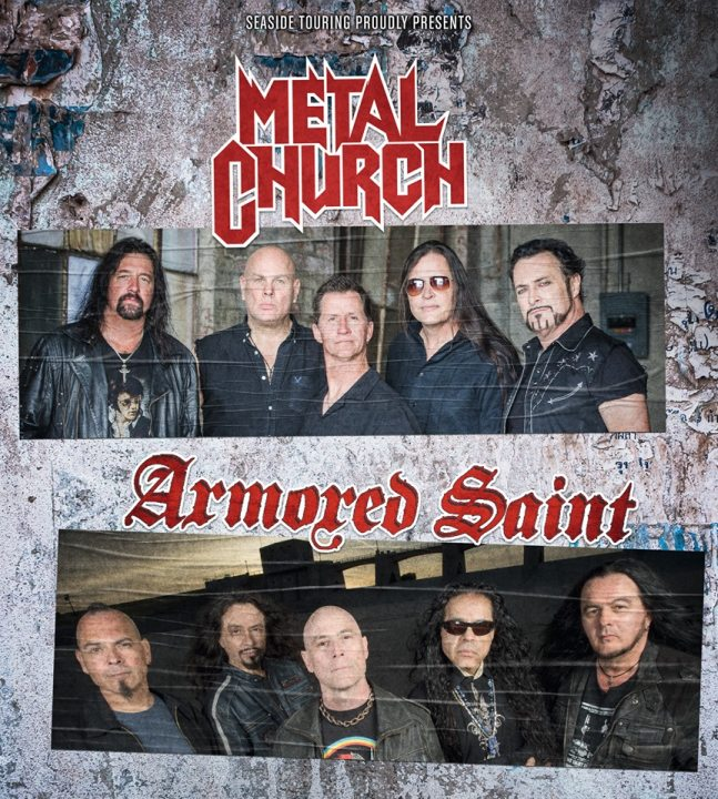 Metal Church / Armored Saint (Aschaffenburg 2019)