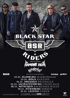Black Star Riders, Diamond Head, Wayward Sons (Colos-Saal Aschaffenburg – 15.11.2019)